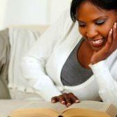 black-woman-reading-book
